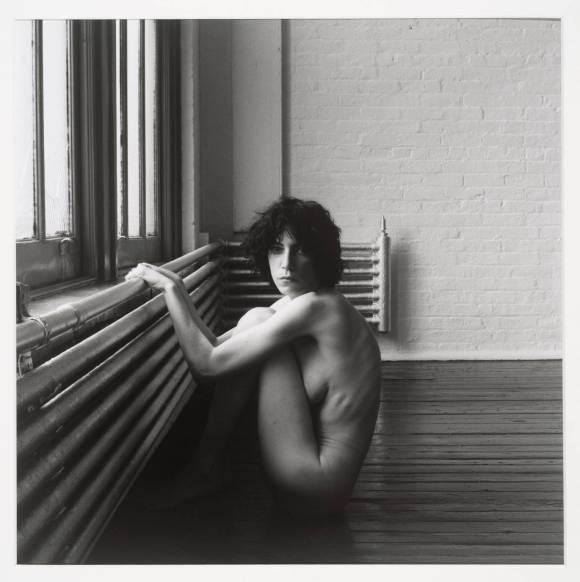 Patti Smith 1976 by Robert Mapplethorpe 1946-1989